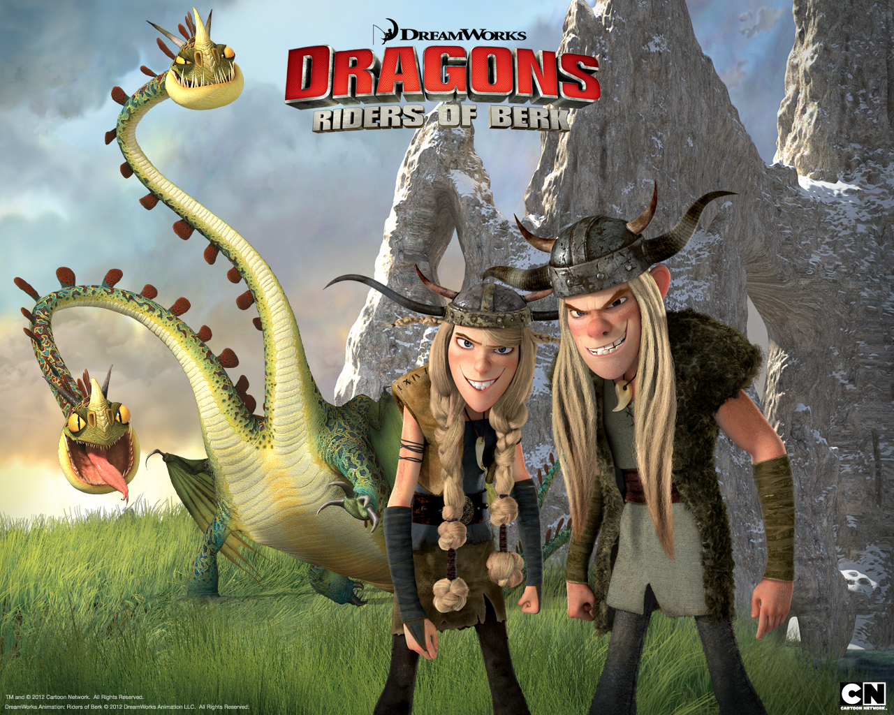 "' Dragons: Riders of Berk"" on the Cartoon Network at 7:30/6:30 C"