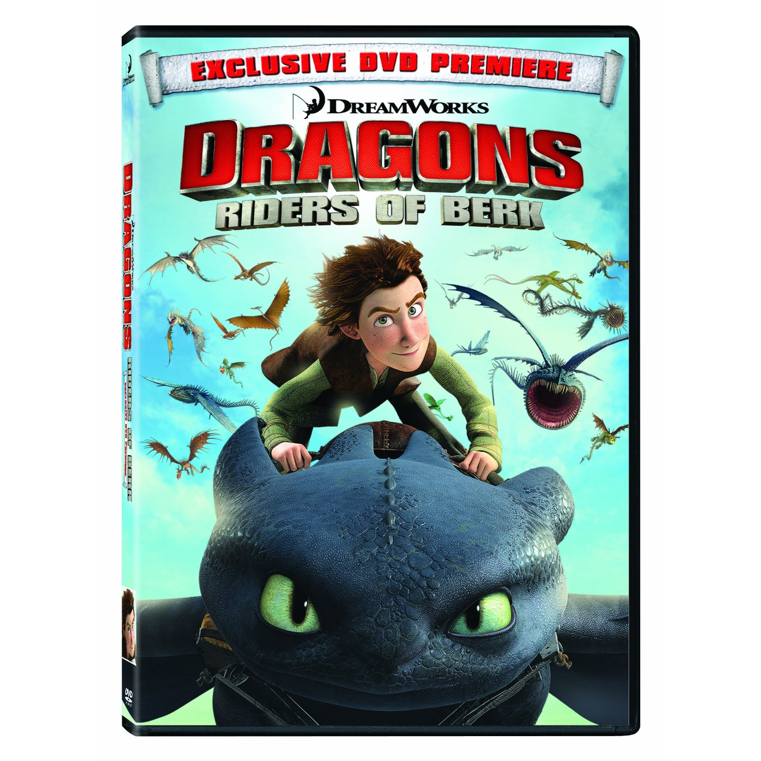 Dreamworks dragons riders of berk available on dvd julie marcus dragons first 4 ccuart Choice Image